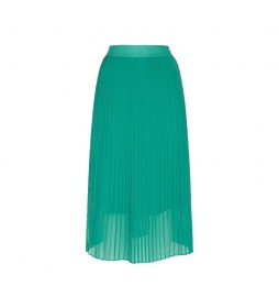 Falda Plisada Lois verde