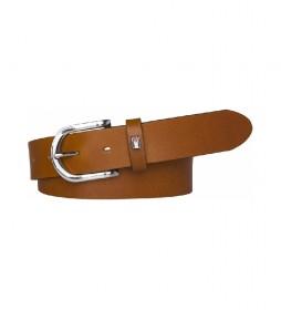 Cinturón de piel New Danny marrón