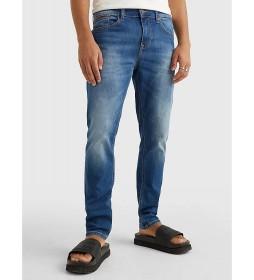Jeans Austin Slim Wmbs azul