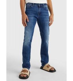 Jeans Scanton Slim Dyjmb azul