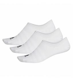 Pack de 3 Calcetines Light Nosh 3PP blanco
