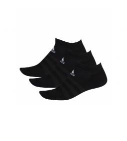 Pack de 3 calcetines CUSH LOW 3PP negro