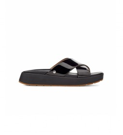 Sandalias de piel Emily negro