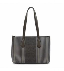Shopping bag MS126-83681 gris -36.5x26x13cm-