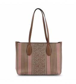 Shopping bag MS126-83681 marrón -36.5x26x13cm-