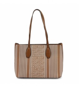 Shopping bag MS126-83681 camel -36.5x26x13cm-