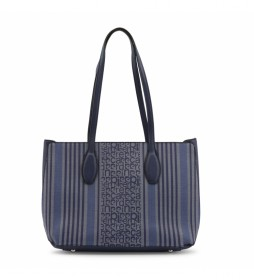 Shopping bag MS126-83681 marino -36.5x26x13cm-