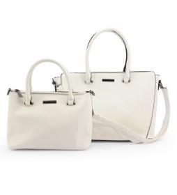 Bolso LF18-5020 blanco -32x25x14cm-