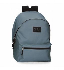 Mochila 6332427 azul -31x44x17.5cm -