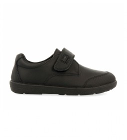 Zapatos de piel Beta negro