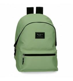 Mochila 6322429 verde - 31x44x17.5cm -