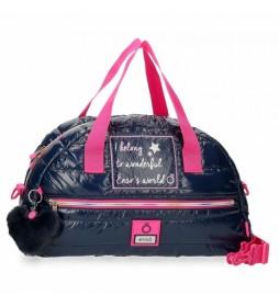 Bolsa de viaje 9193021 azul - 40x25x18cm -