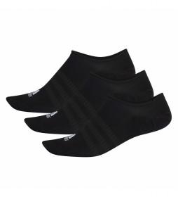Pack de 3 Calcetines Light Nosh negro