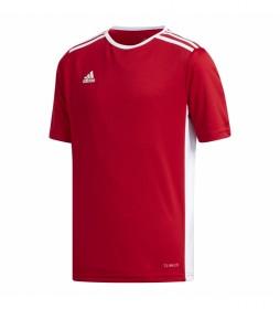 Camiseta Entrada  18 JSYY rojo