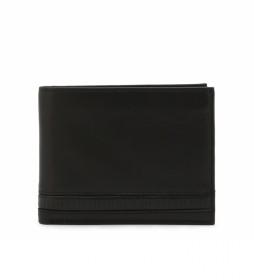 Cartera de piel E2BPME2D3003 negro -13x10x3cm-