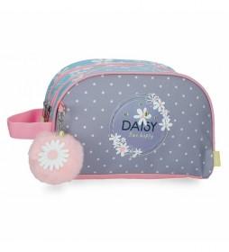 Neceser Enso Daisy lila, multicolor -26x16x11cm-