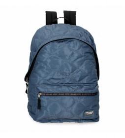 Mochila Escolar Orson azul -31x44x17,5cm-