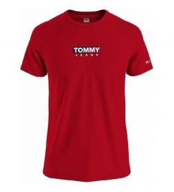 Camiseta TJM Entry Print rojo