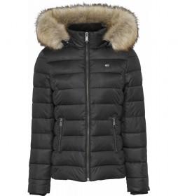 Chaqueta TJW Essential Hooded negro