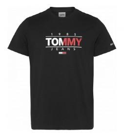 Camiseta TJM Essential Graphic negro