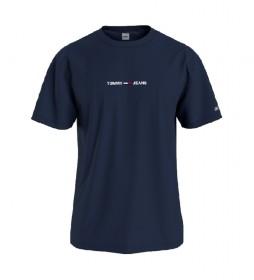 Camiseta TJM Small Text marino