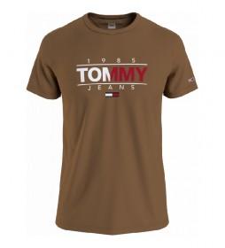 Camiseta TJM Essential Graphic marrón