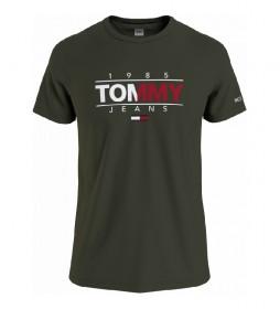 Camiseta TJM Essential Graphic verde