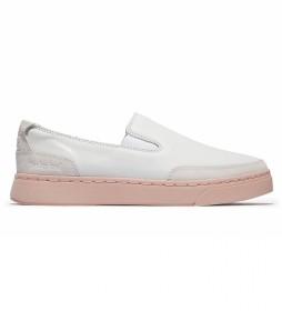 Zapatillas de pielAtlanta Green blanco, rosa