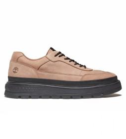 Zapato de piel Oxford City marrón, negro