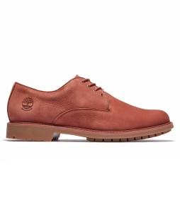 Zapato de piel Stormbucks Oxford marrón