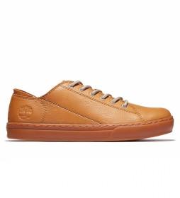 Zapato de piel Cupsole mostaza