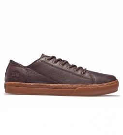 Zapato de piel Cupsole marrón oscuro