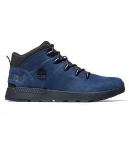 Botas de piel Chukka Sprint Trekker azul