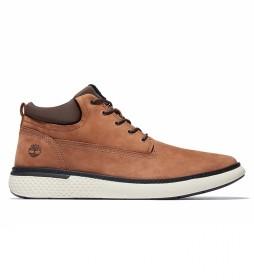 Botas de piel Cross Mark marrón