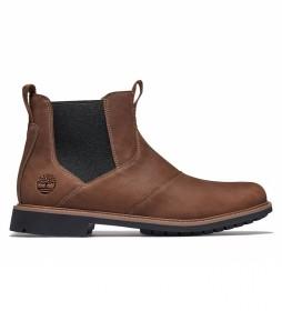 Botas de piel Stormbucks Oxford marrón