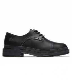 Zapato  de piel Lisbon negro