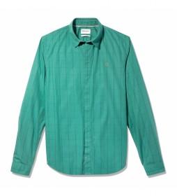 Camisa Flannel verde