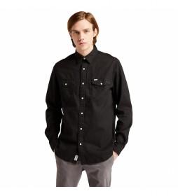 Camisa vaquera Mumford negra denim