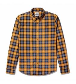 Camisa Str Poplin slim amarillo