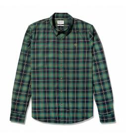 Camisa Str Poplin slim verde
