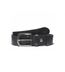 Cinturon de piel Embossed leather belt