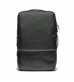 Mochila Cabot negro -47 x 31,5 x 15 cm-