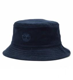 Sombrero Corduroy Bucket azul