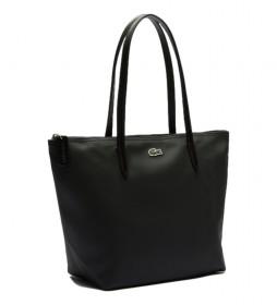 Bolso Shopping Bag femme negro -24x24,5x14,5cm-
