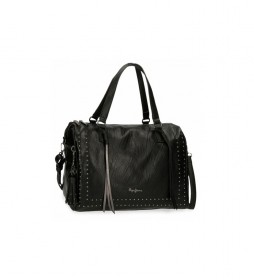 Bolso Chic negro -34x23x17cm-