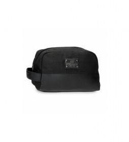 Neceser Adaptable  Scratch negro -25x15x12cm-