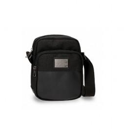 Bandolera Scratch negro -17x22x6cm-