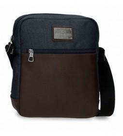 Bandolera Porta Tablet Scratch marino -23x27x7cm-