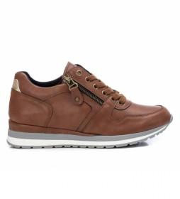 Zapatillas 043313 marrón