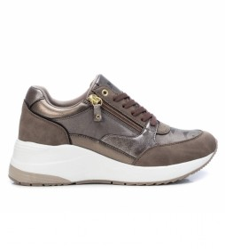 Zapatillas 043124 dorado